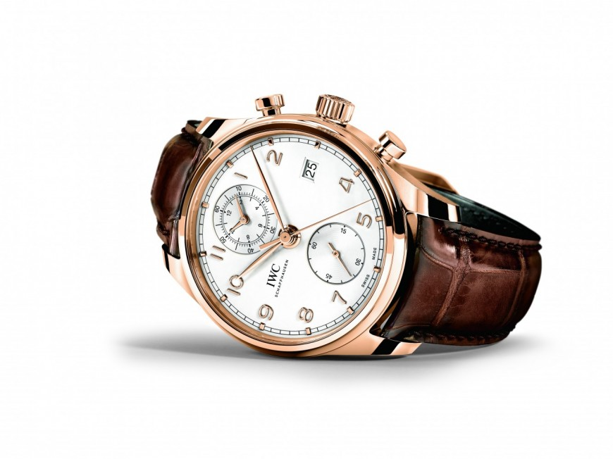 IWC launches new edition of the Portugieser Chronograph Classic